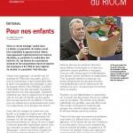 Couverture bulletin RIOCM décembre 2014