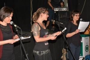 Lecture du manifeste de la colère des centres de femmes du Québec