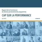 Rapport commission permanente de la révision des programmes