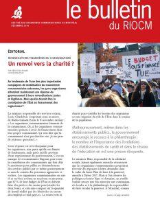 couverture bulletin riocm decembre 2016